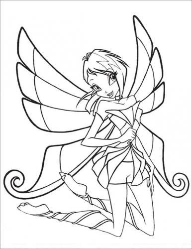 disegni winx da colorare gratis