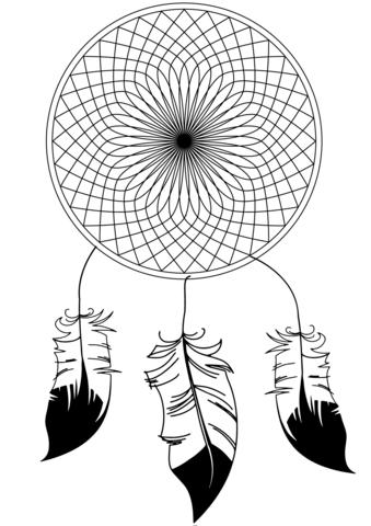disegno acchiappasogni gratis