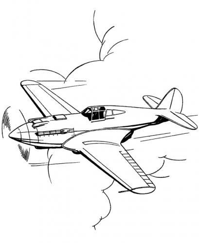 disegno aereo militare