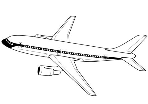 disegno aeroplano