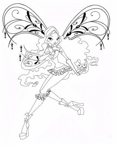 disegno Aisha bloomix