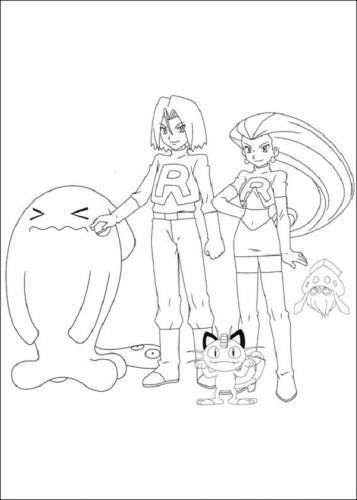 disegno colorare Pokémon