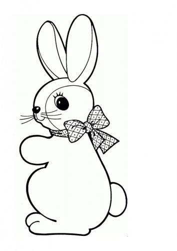 Disegno coniglietto