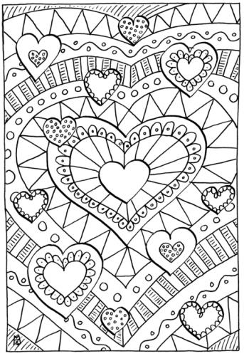 disegno cuore stilizzato
