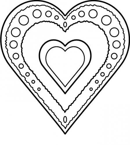 disegno cuore
