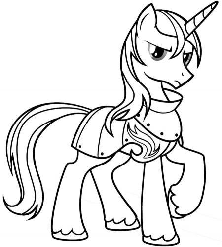 Disegno da colorare My Little Pony