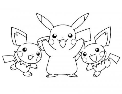 disegno da colorare Pokémon