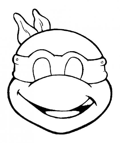 disegno da colorare tartarughe ninja
