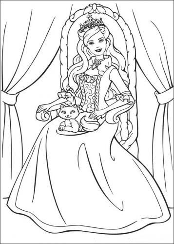 disegno di barbie