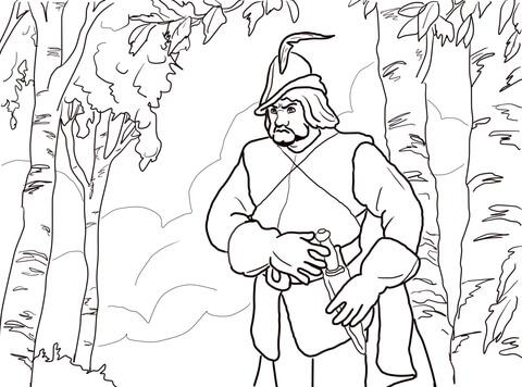 Il cacciatore nel bosco