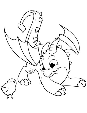 disegno di drago