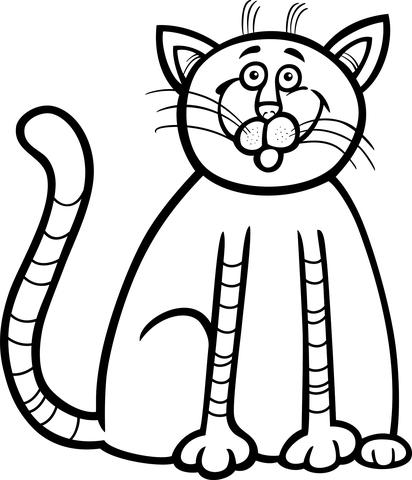 disegno di gatto