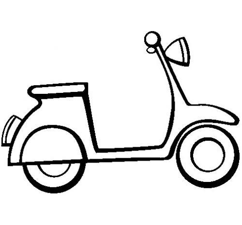 disegno di moto