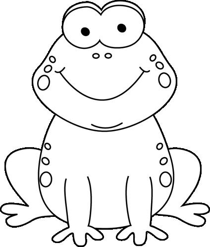disegno di rana