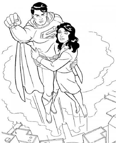 disegno di Superman