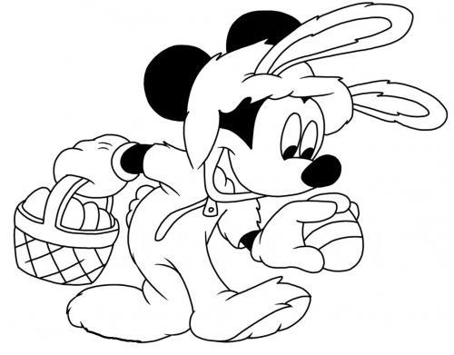 disegno di topolino
