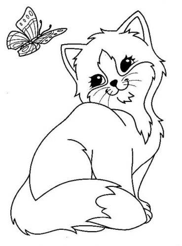 disegno di un gatto