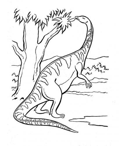 disegno dinosauro