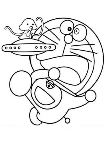 Disegno Doraemon