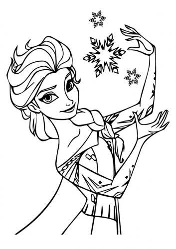 disegno di Elsa