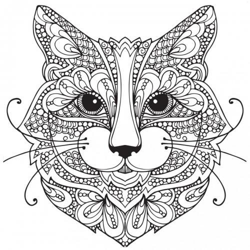 disegno gatto stilizzato