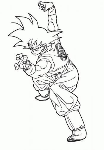 disegno Goku