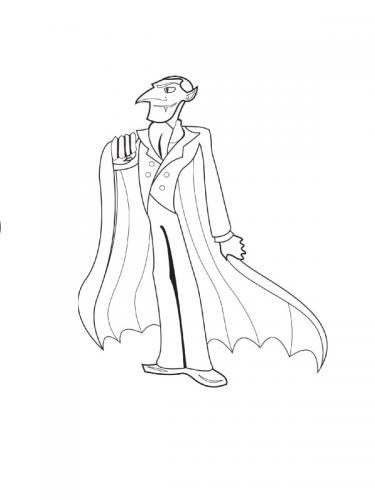 maschera di Dracula
