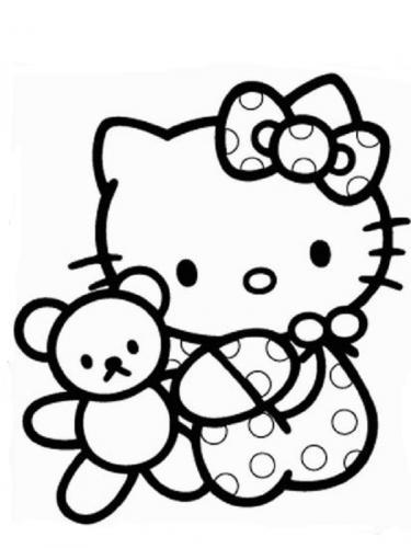 disegno hello kitty