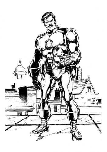 disegno Iron Man