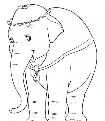 disegno mamma Dumbo