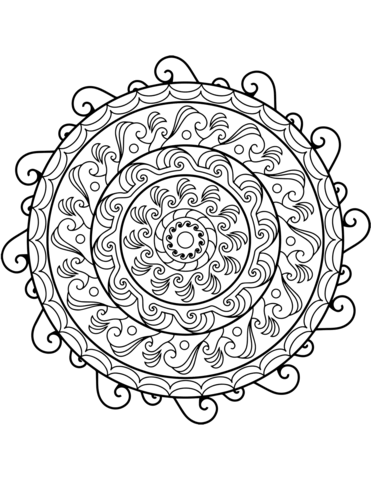 disegno mandala