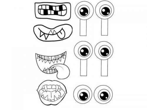 occhi mostruosi