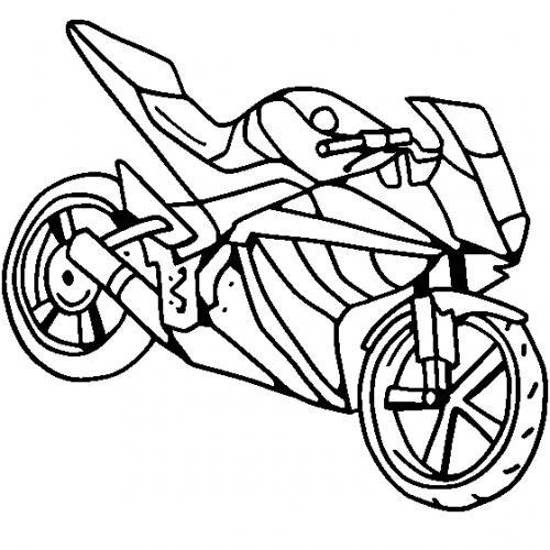disegno moto