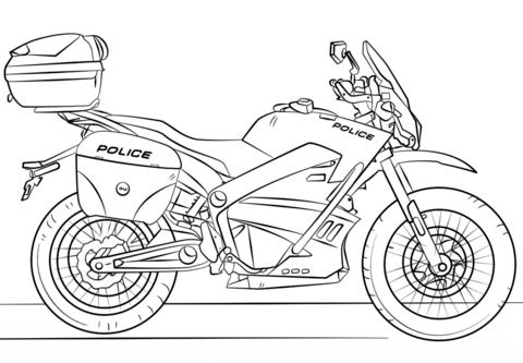 disegno motocross