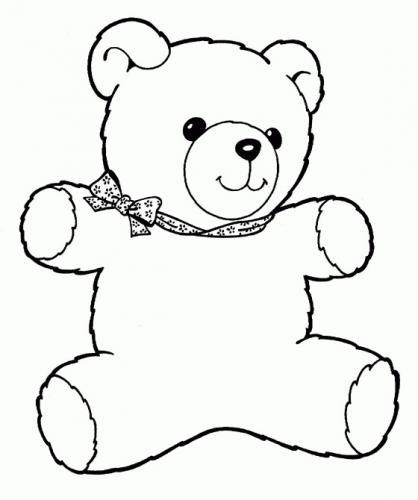 disegno orsacchiotto