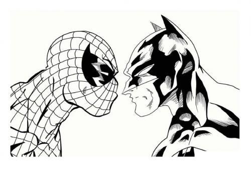 disegno spiderman