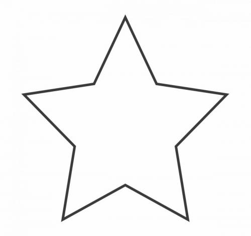 disegno stella