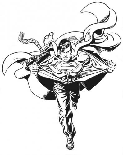 disegno Superman