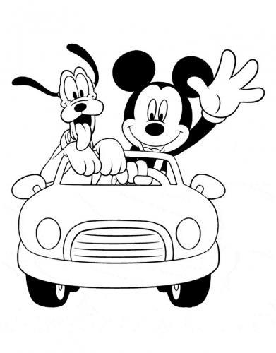 disegno topolino disney