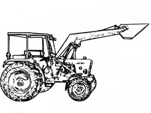 trattore per bambini