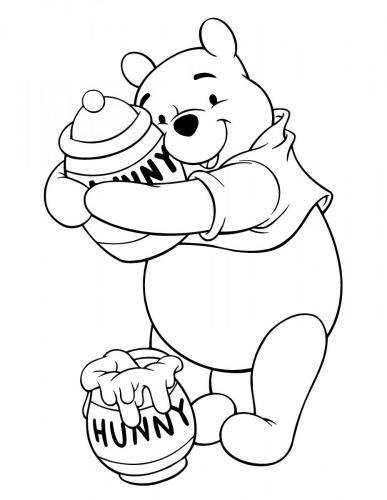 disegno winnie the pooh