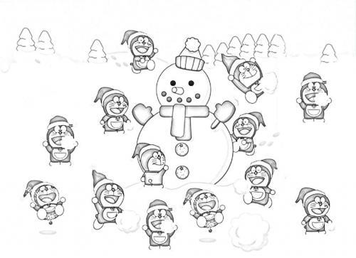 Doraemon disegni da colorare