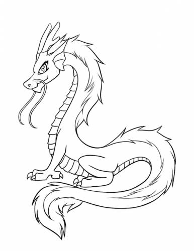 draghi da disegnare