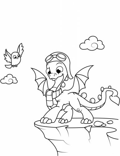 draghi disegnati