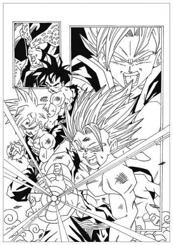 Dragon Ball Z disegni