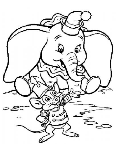 Dumbo disegno a matita