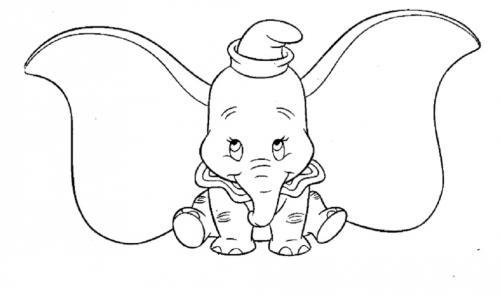 Dumbo disegno