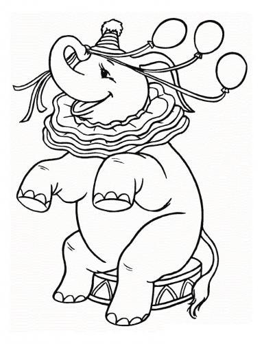 elefante animato