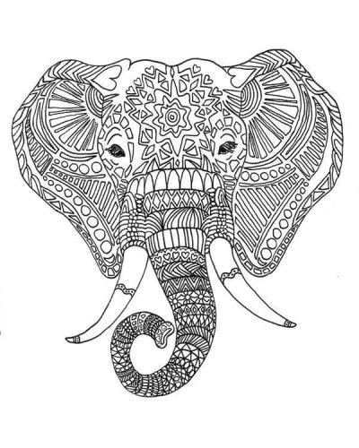 elefante stilizzato pdf