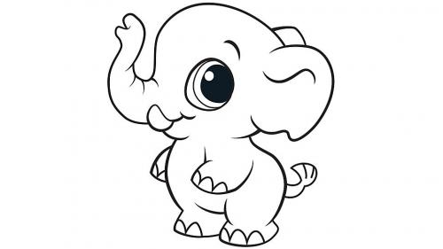 elefanti che disegnano